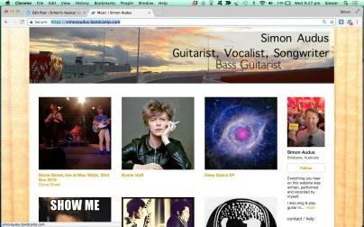 Simon's bandcamp site