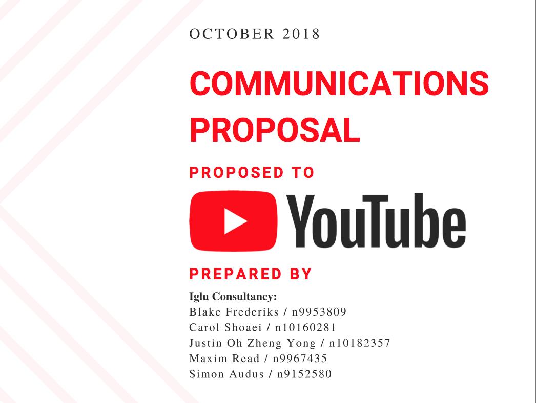 YouTube proposal